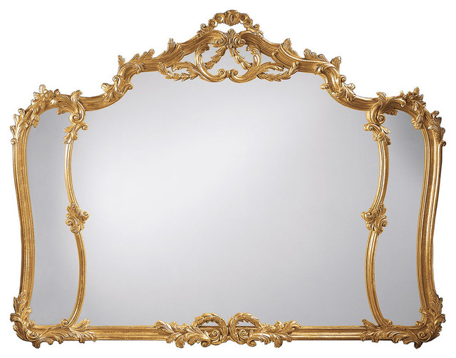 4770bf08da1e Louis Xv-Style Horizontal Wall Mirror - Victorian - Wall Mirrors - by  Inviting Home Inc