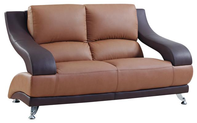 Global Furniture Loveseat Brown.