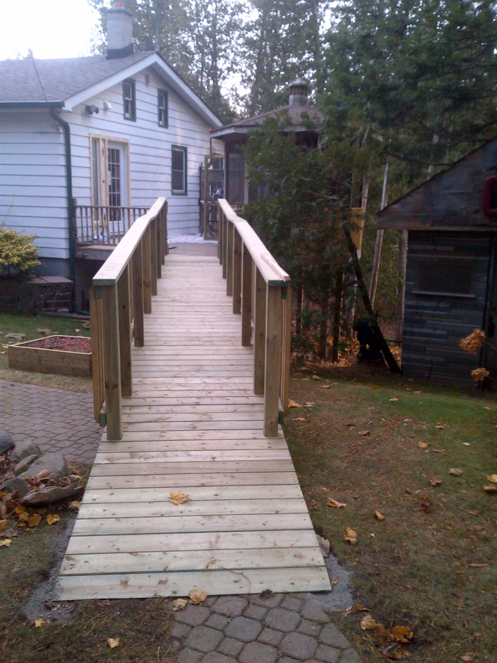 Tooley Rd.  Access Ramp