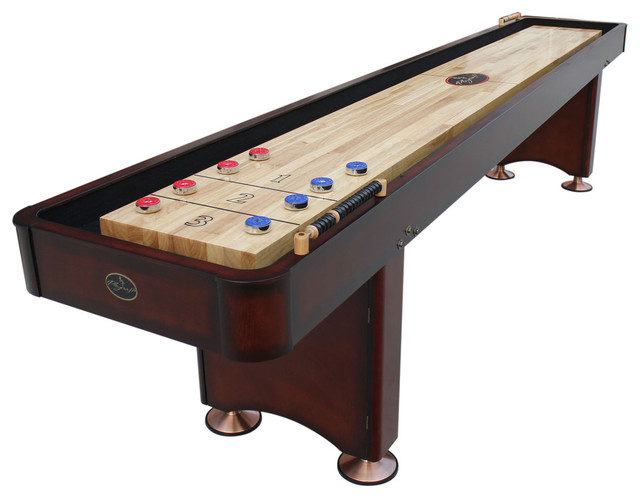 Playcraft Georgetown Cherry 9 Shuffleboard Table