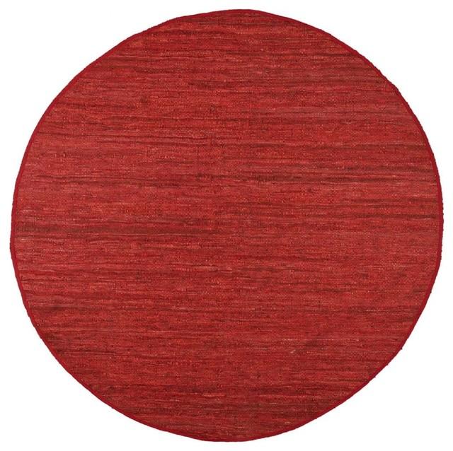 Contemporary matador area rug contemporary area rugs for Round contemporary area rugs