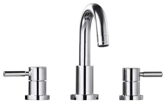 Widespread Bath Faucet - Contemporary - Bathroom Sink Faucets - by ...