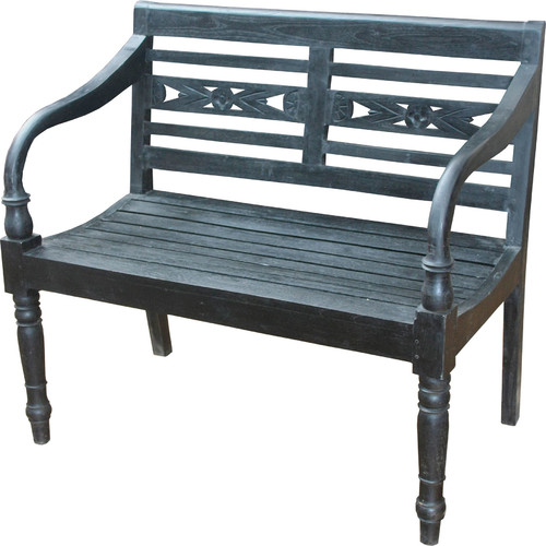 Sterling Industries Folger Bench, Restoration Black