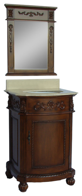 "24"" Powder Room Special Camelot Bathroom Sink Vanity."