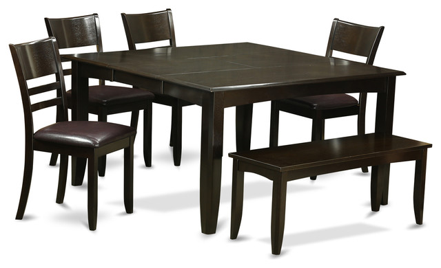 Pfly Cap Kitchen Table Set Transitional Dining Sets