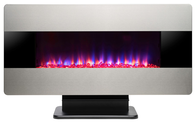 Outstanding 3 In 1 36 Electric Fireplace Wall Mount Freestanding Convertible Firebox Download Free Architecture Designs Scobabritishbridgeorg