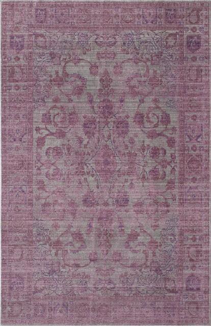 Asteria Rug, Lavender, 4&x27;x6&x27;.