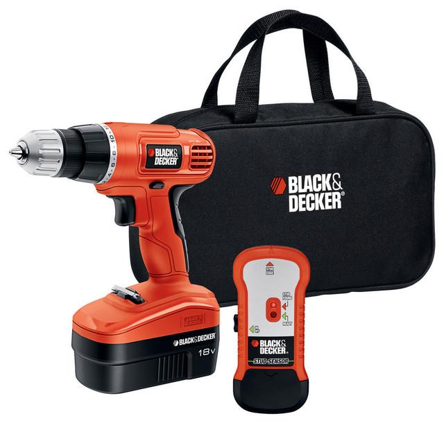 Black And Decker 12 Volt Cordless Drill With Stud Sensor