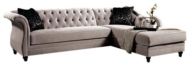 Rotterdam Sectional Sofa Warm Gray