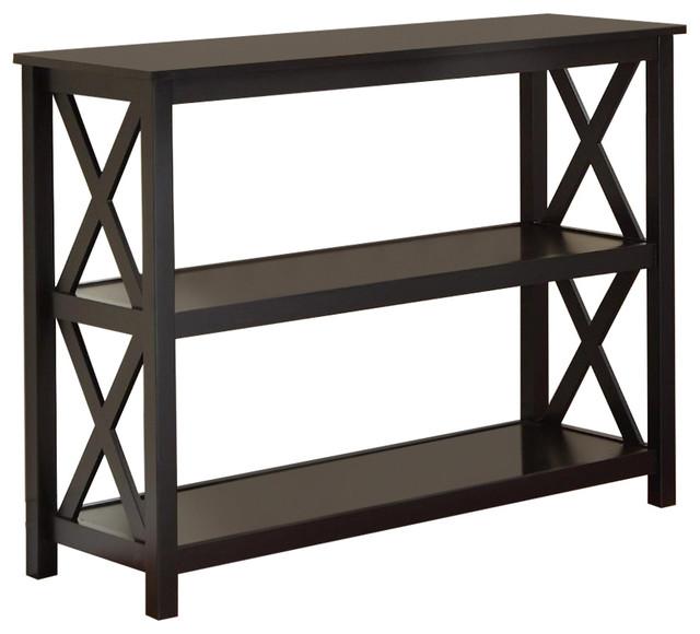 Sofa Table Bookcase Living Room Shelves