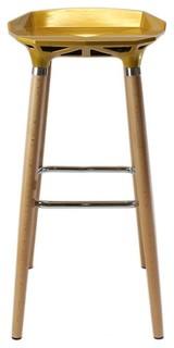 Peachy Diamond Wooden Bar Stool Modern Bar Stools And Kitchen Machost Co Dining Chair Design Ideas Machostcouk