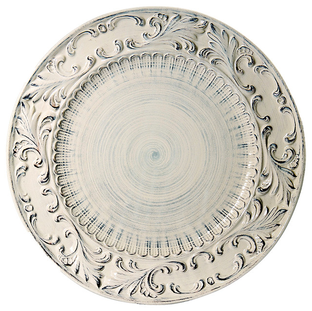 Baroque Round Platter 15 75 Traditional Serving Dishes And Platters By Intrada Italy