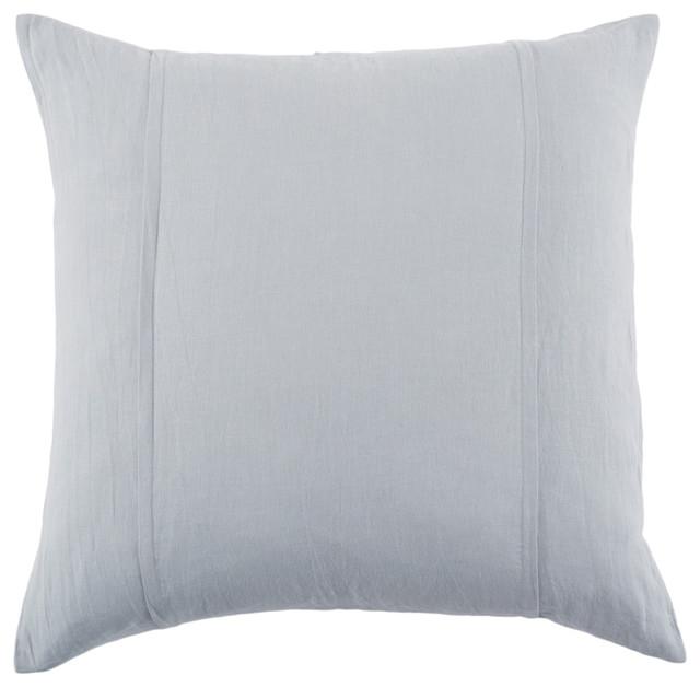 Louwie Grey Stone Euro Sham Pillowcases And Shams By