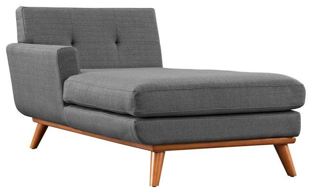 Engage Left Arm Chaise Transitional Indoor Chaise Lounge Chairs By Whol