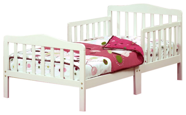Contemporary Solid Wood Transition Toddler Bed
