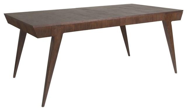Artistica Home Haiku Rectangular Dining Table, Marrone.