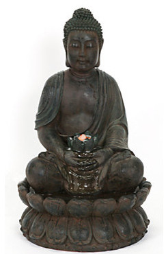 33 Quot Buddha Fountain Asian Indoor Fountains By Z Gallerie