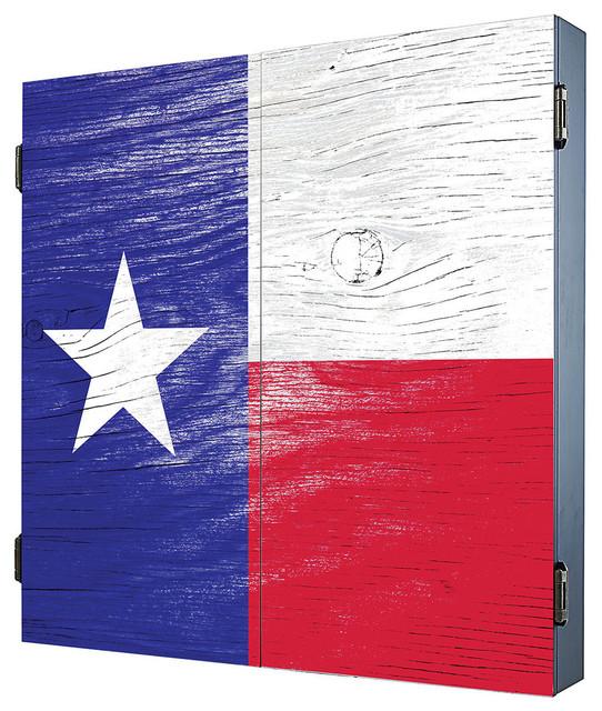 Texas Dartboard Cabinet - Contemporary - Darts And ...