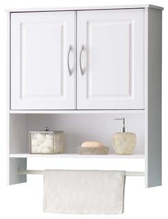 Nantucket 2 Door Bath Wall Cabinet   Bathroom Cabinets And Shelves