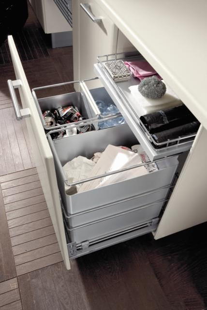 Vibo recycle basket - Contemporary - Kitchen Drawer Organizers - by tarek elsallab company