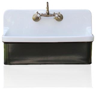 Studio Green Vintage Style High Back Farm Sink Kohler