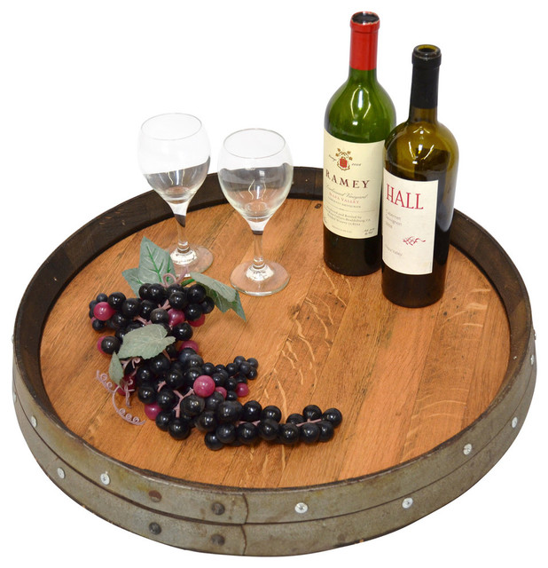 Barrel Top Lazy Susan Free Shipping Industrial Serving Trays