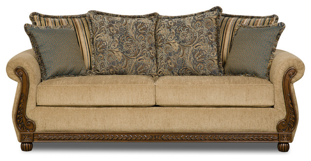 Simmons Queen Sleeper Traditional Sleeper Sofas