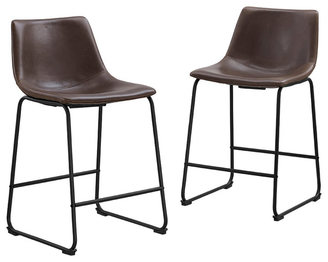Cute Contemporary Bar Stools And Counter Stools by Walker Edison