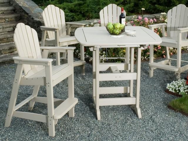 Seaside Casual Classic Adirondack Bar Chair Adirondack Chairs