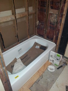 Shimming Studs For Tub Surround