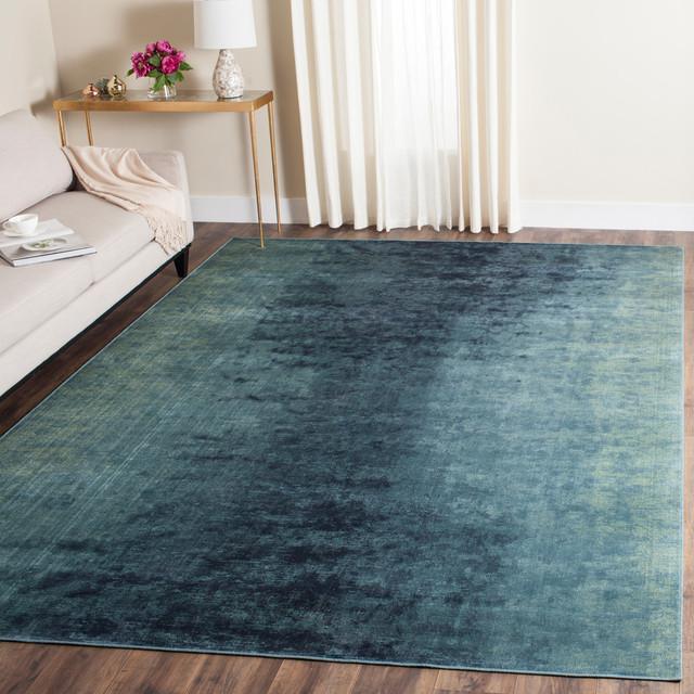 Safavieh Vintage Inspired Rug, Turquoise/multi, 8&x27;x11&x27;2.