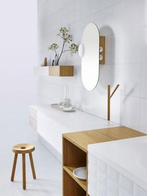 66 Serene Scandinavian Bathroom Designs