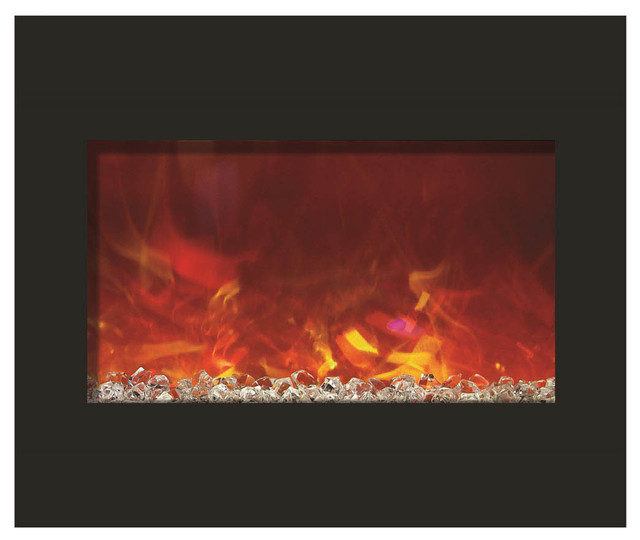 Zero Clearance Series Built-In Electric Fireplace, 30.