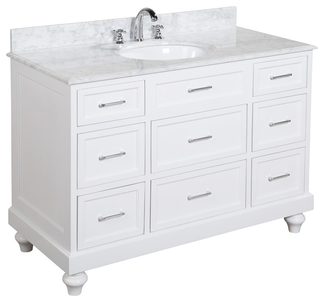 Fresh Transitional Bathroom Vanities And Sink Consoles by Kitchen Bath Collection