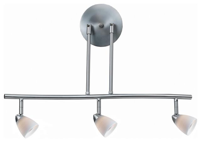 3 Lights Serpentine Light 120v Gu 10 50w Each Bulbs Included