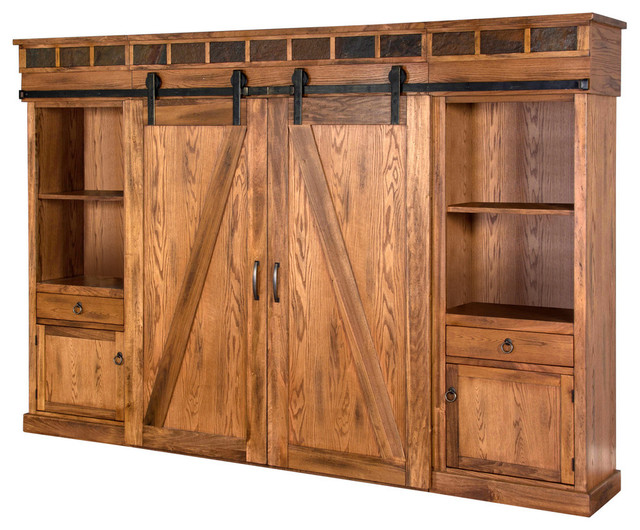 Sunny Designs Sedona 121 Quot Entertainment Center Rustic Oak