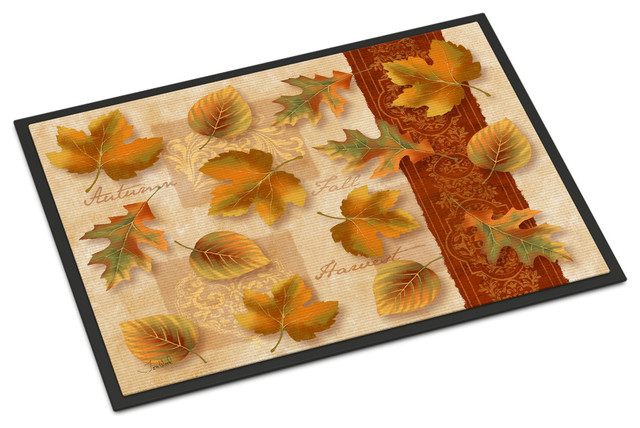 Fall Autumn Leaves Indoor/outdoor Mat 24x36 Ptw2001jmat.