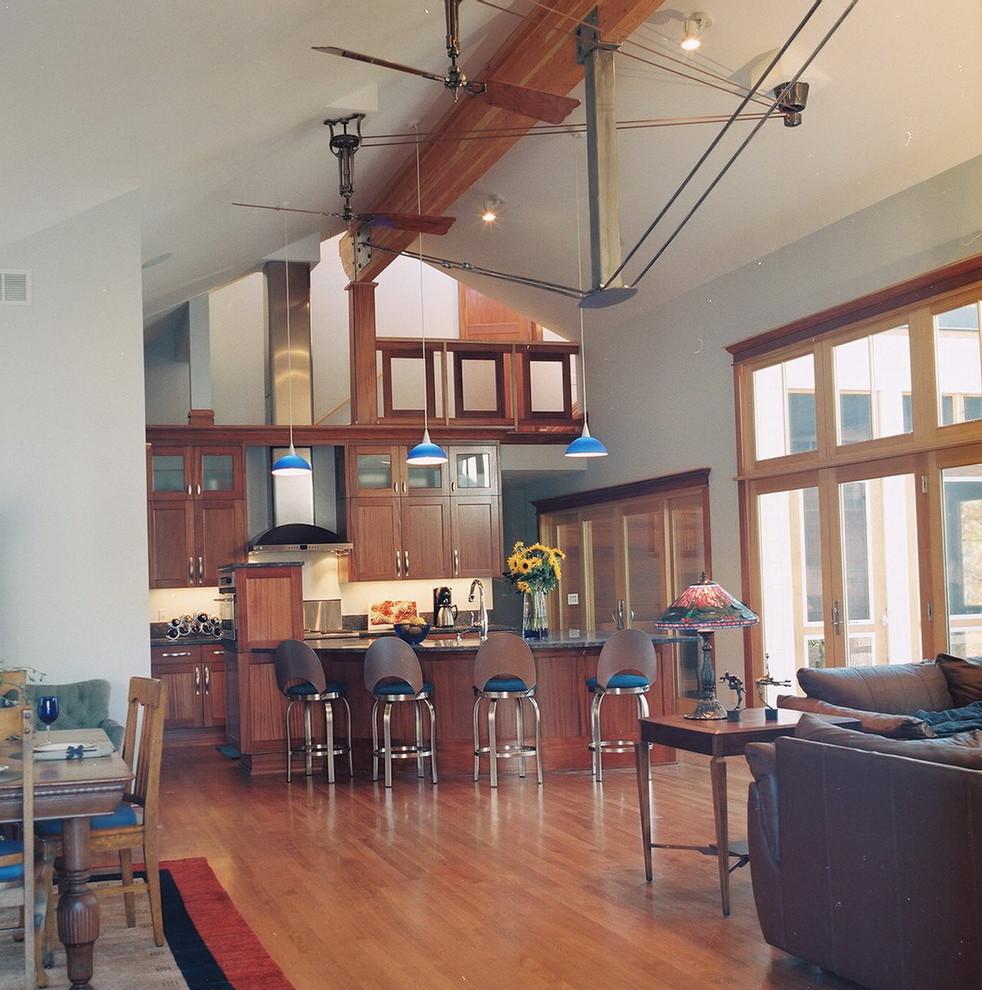 Trendy home design photo in Minneapolis