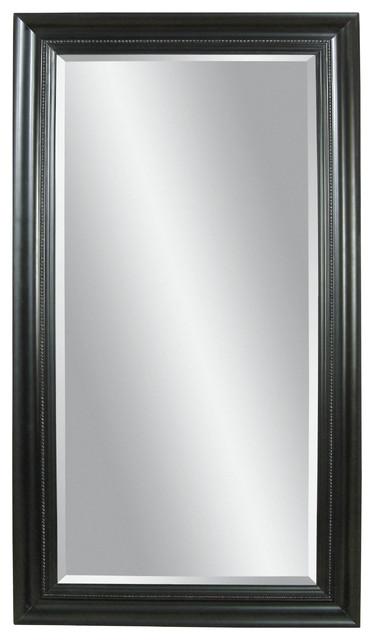 Plantation Mahogany Floor Mirror - Traditional - Floor Mirrors - by ...