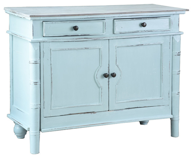 Sunset Trading Beach Blue Cottage Cabinet by Sunset Trading