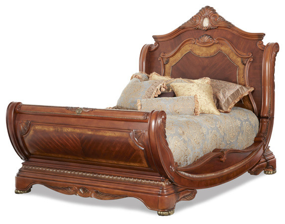 AICO Cortina Bed Collection - Traditional - Bedroom Furniture Sets ...