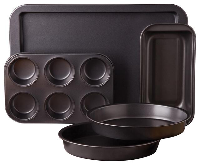 Sunbeam Kitchen Bake 5-Piece Bakeware Set.