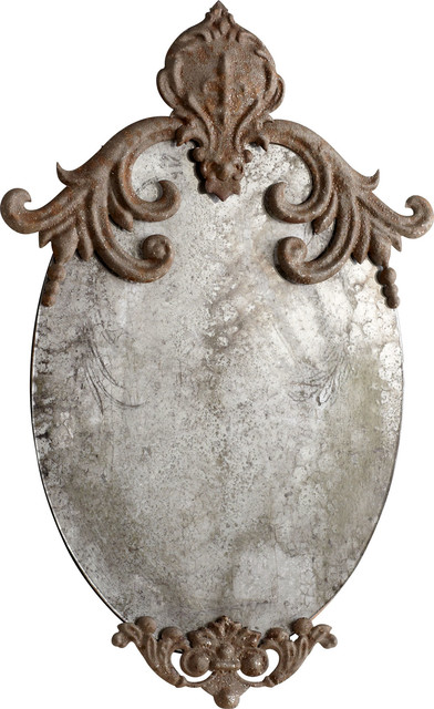 Charlemagne Mirror, Rustic.