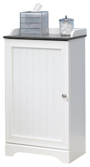 Sauder Caraway Floor Cabinet Soft White Bathroom Cabinets And Shelves