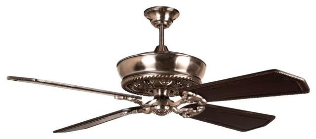 "Craftmade K11235 Monroe 56"" 5-Blade Indoor Ceiling Fan, Tarnished Silver."