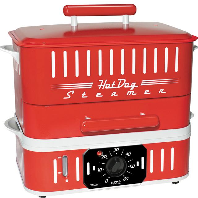Retro Hot Dog Steamer And Bun Warmer.