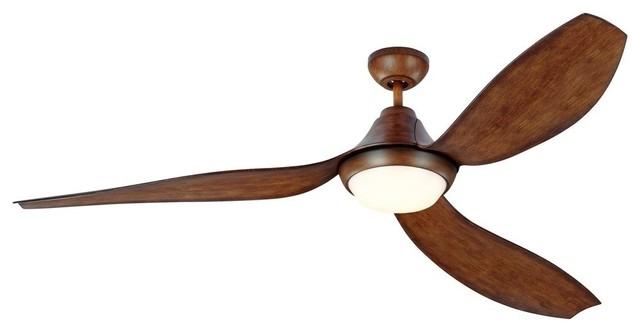 """64"""" Avvo Max Ceiling Fan, Koa."""