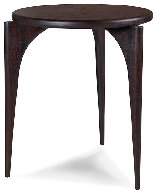 Emerson Round End Table Transitional Furniture by