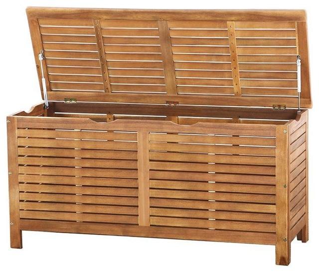 Riviera Wooden Garden Storage Box
