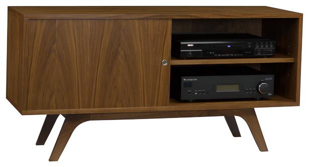 Classic 2 Walnut Credenza - Modern - Media Cabinets - by Radius Style